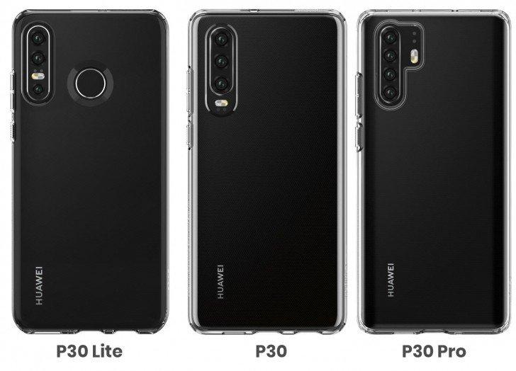 Η εξωτερική σχεδίαση του Huawei P30 Lite φανερώθηκε μέσων εικόνων από την Spigen 8