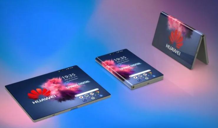 Σε 3D εικόνες και renders το πτυσσόμενο Huawei smartphone 1