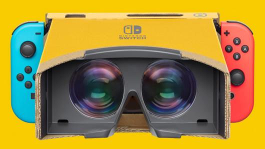 'Ερχεται Απρίλιο το νέο Labo VR συμβατό με το Switch 2