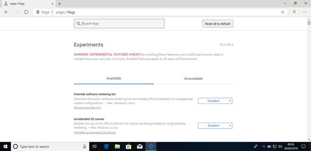 Μια πιο κοντινή ματιά στον Chromium-based Microsoft Edge για τα  Windows 10 4
