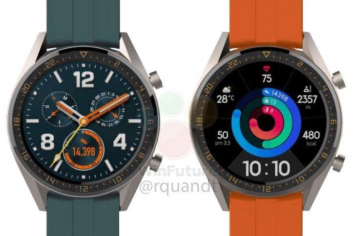 Δύο παραλλαγές του Huawei Watch GT φημολογούνται ότι θα ξεκινήσουν με το P30 αυτό το μήνα 2