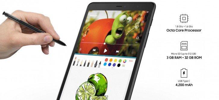 Το Samsung Galaxy Tab 8.0 (2019) φανερώθηκε με S Pen 1