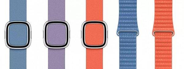 Νέα χρώματα για θήκες iPhone's και για λουριά του Apple Watch
