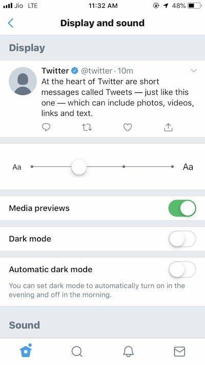 Twitter Dark Mode: Δείτε πώς να το ενεργοποιήσετε 3