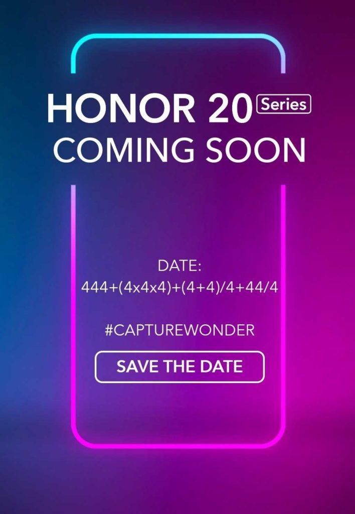 Honor 20 series launch 708x1024 Μια αφίσα μας περιγράφει ένα βασικό χαρακτηριστικό του Honor 20