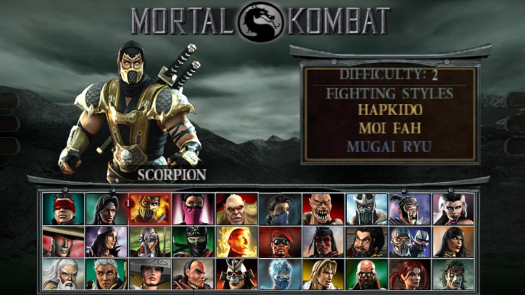 Η ιστορία του Mortal Kombat από την αρχή! 2
