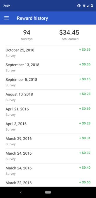 Η αναβάθμιση της εφαρμογής Google Opinion Reward είναι διαθέσιμη 1