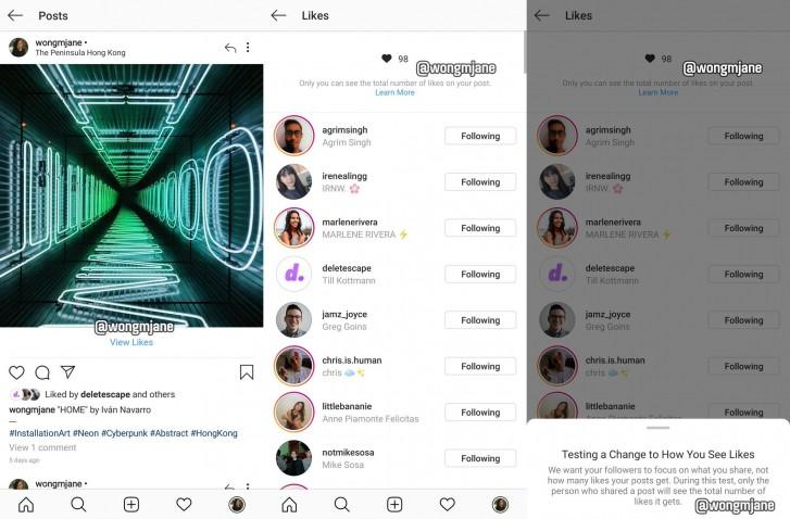 """Λίαν συντόμως το Instagram ενδέχεται να αποκρύψει σύντομα τον αριθμό """"Likes"""" από τις αναρτήσεις σας 1"""