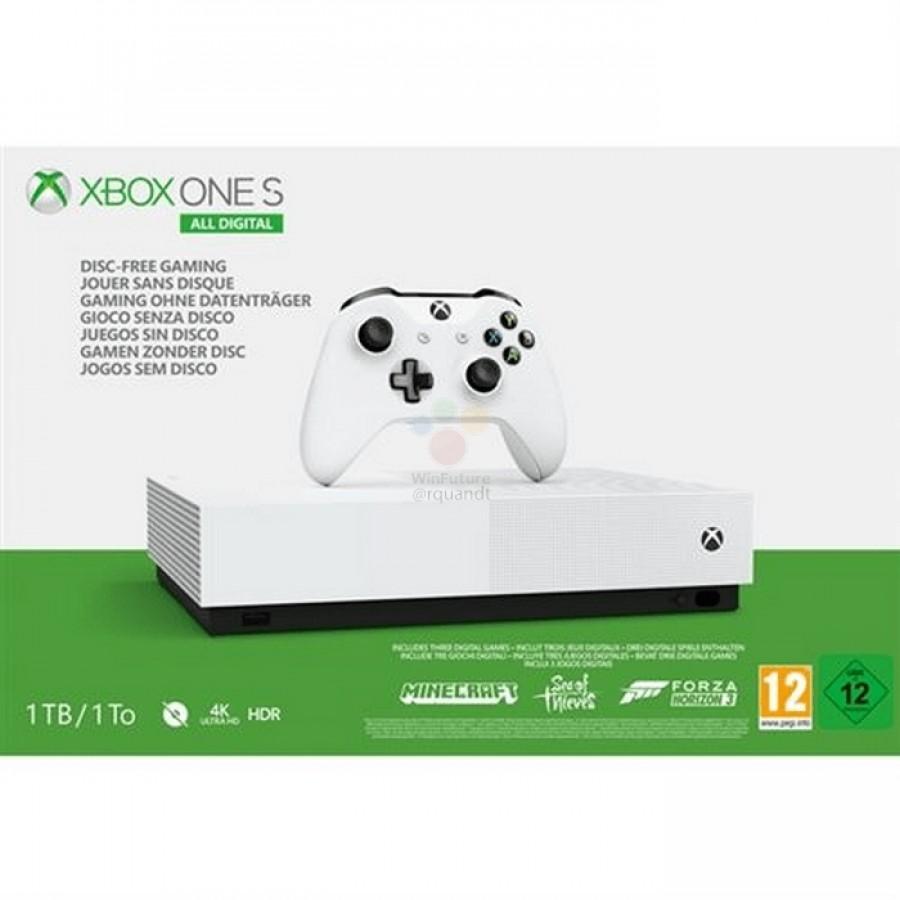 gsmarena 003 1 5 Microsoft Xbox One S All Digital: Έχουμε τιμή, ημερομηνία και εικόνες από την νέα κονσόλα