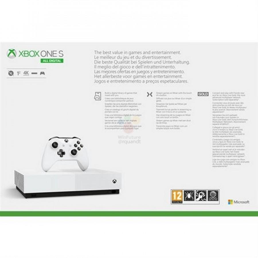 gsmarena 004 7 Microsoft Xbox One S All Digital: Έχουμε τιμή, ημερομηνία και εικόνες από την νέα κονσόλα