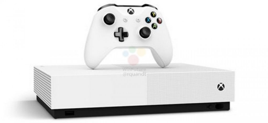 gsmarena 005 6 1024x472 Microsoft Xbox One S All Digital: Έχουμε τιμή, ημερομηνία και εικόνες από την νέα κονσόλα