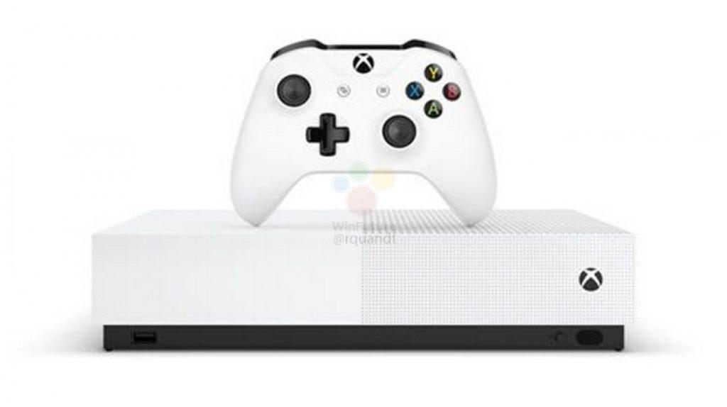 gsmarena 006 4 1024x574 Microsoft Xbox One S All Digital: Έχουμε τιμή, ημερομηνία και εικόνες από την νέα κονσόλα