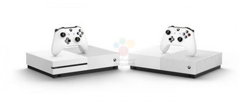 gsmarena 007 3 1024x430 Microsoft Xbox One S All Digital: Έχουμε τιμή, ημερομηνία και εικόνες από την νέα κονσόλα