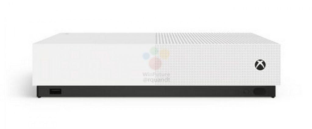 gsmarena 008 3 1024x424 Microsoft Xbox One S All Digital: Έχουμε τιμή, ημερομηνία και εικόνες από την νέα κονσόλα