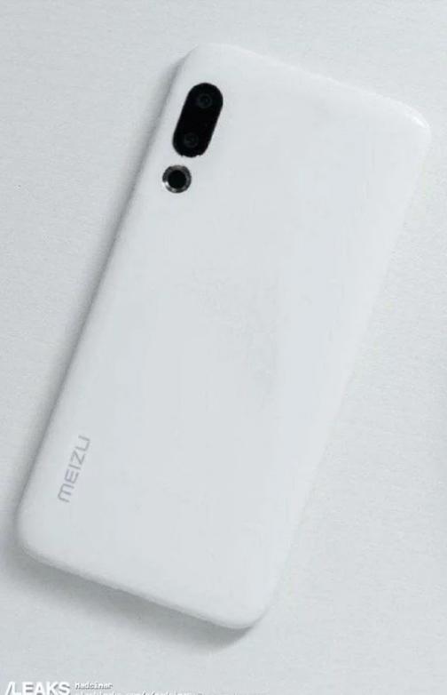 Meizu 16s: Επιπρόσθετο φωτογραφικό υλικό της συσκευής σε λευκό χρώμα 1