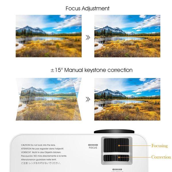 BPOWER T20 LCD Mini Movie Projector: Κινηματογραφική εμπειρία με μικρό κόστος! 1