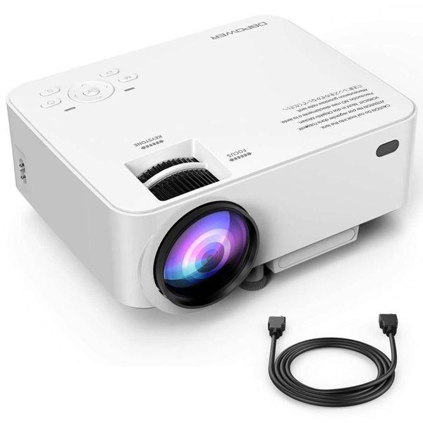 BPOWER T20 LCD Mini Movie Projector: Κινηματογραφική εμπειρία με μικρό κόστος! 3