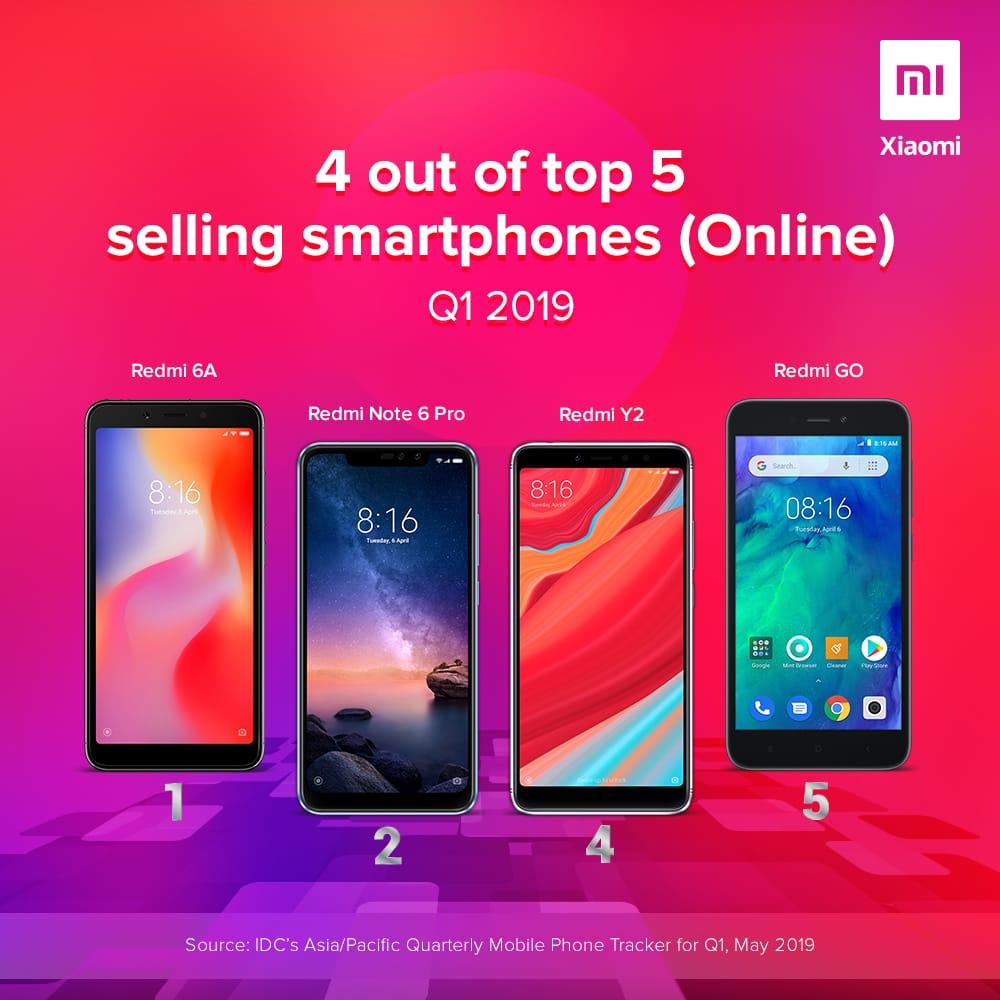 Συνεχίζει να μένει στην κορυφή η Xiaomi όσον αφορά τις online πωλήσεις σε Ασία και Ειρηνικό 2