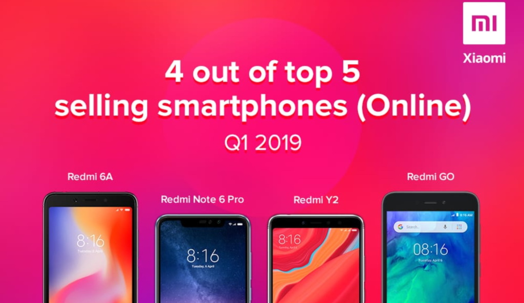 Συνεχίζει να μένει στην κορυφή η Xiaomi όσον αφορά τις online πωλήσεις σε Ασία και Ειρηνικό 1