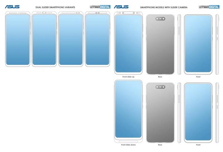 Πολλαπλά διπλώματα ευρεσιτεχνίας της Asus δείχνουν νέα σχέδια για συσκευές με slider μηχανισμό πλήρους οθόνης 1