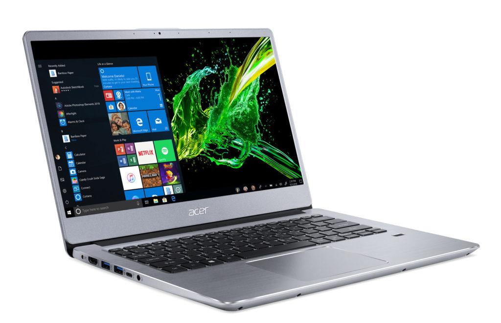 Tα νέα laptop's Acer Nitro 5 και Swift 3 συσκευάζουν τους τελευταίους επεξεργαστές AMD Ryzen 1