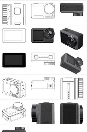 Πάρτε μια μικρή ιδέα για το πως θα είναι η πρώτη actio camera της DJI 1