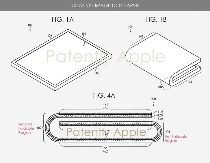 Η Apple χορήγησε δίπλωμα ευρεσιτεχνίας για αναδιπλούμενη συσκευή 1