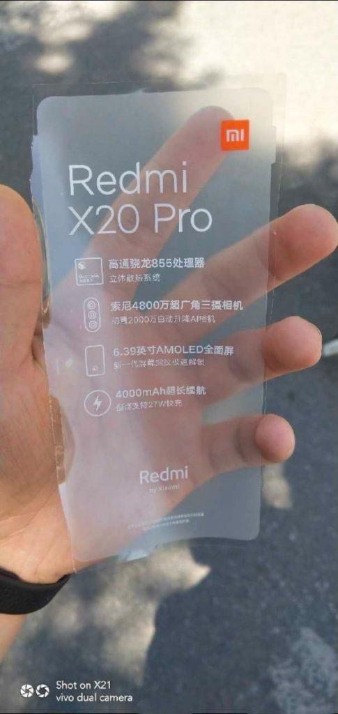 Υποτίθεται πως το Redmi K20 Pro με S855 μπορεί να είναι το Pocophone F2 1