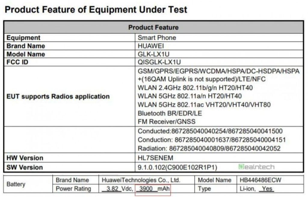 Έγγραφα εμφανίζουν το Huawei nova 5i με Kirin 710, RAM 4 και αποθηκευτικό χώρο 128GB 2