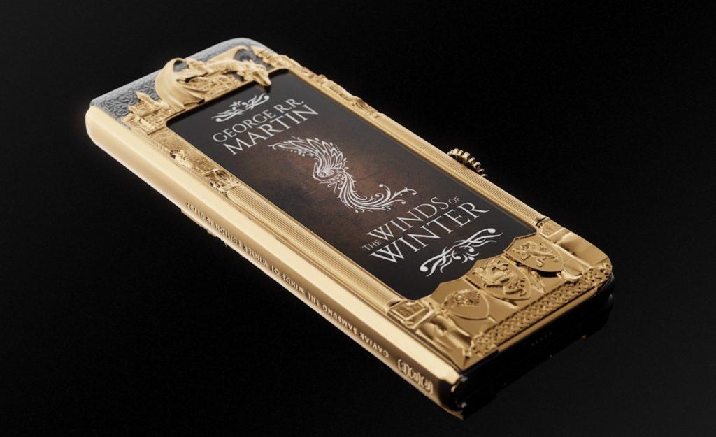 """Caviar: Ετοίμασε την ολόχρυση έκδοση του Samsung Galaxy Fold """"Game of Thrones"""" 1"""