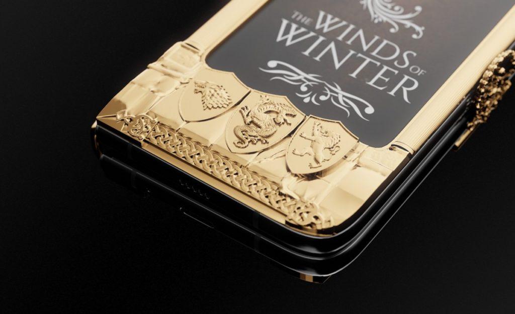 """Caviar: Ετοίμασε την ολόχρυση έκδοση του Samsung Galaxy Fold """"Game of Thrones"""" 2"""