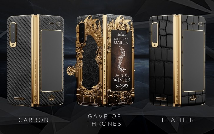 """Caviar: Ετοίμασε την ολόχρυση έκδοση του Samsung Galaxy Fold """"Game of Thrones"""" 4"""