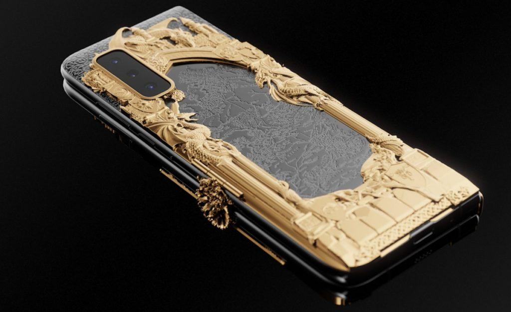 """Caviar: Ετοίμασε την ολόχρυση έκδοση του Samsung Galaxy Fold """"Game of Thrones"""" 3"""