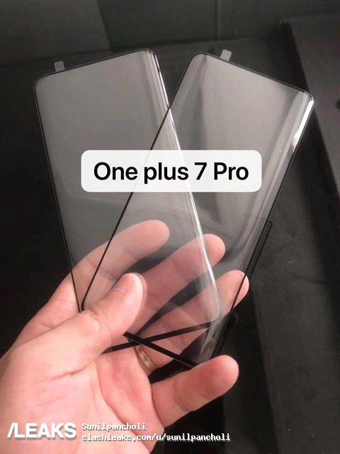 Προδόθηκαν και άλλες πληροφορίες από την εμφάνιση του tempered glas για το OnePlus 7 Pro 1