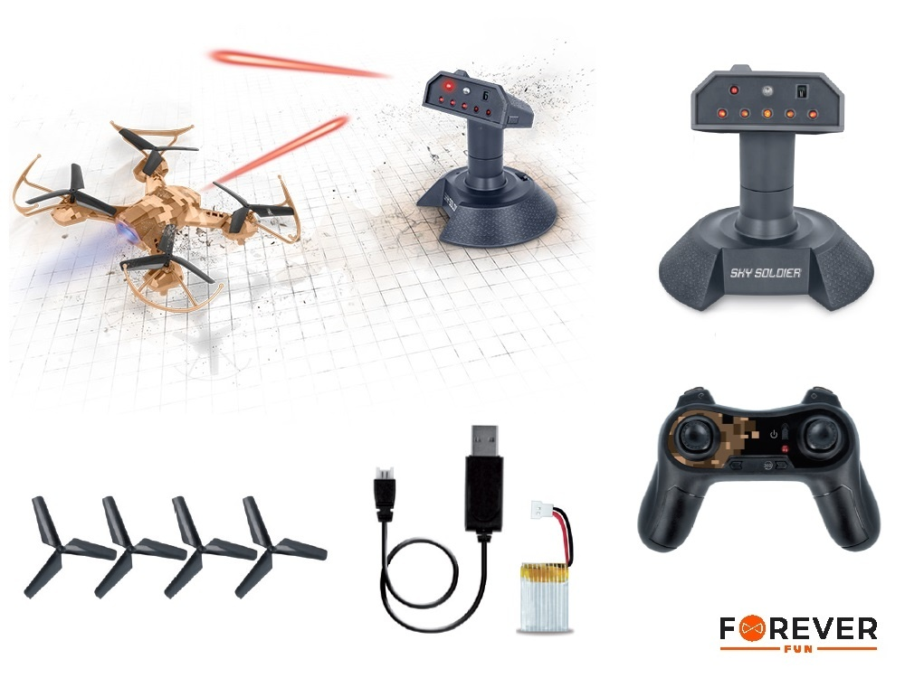 [Mygad.gr]: Αερομαχίες στον αέρα και η αδρεναλίνη στα κόκκινα με το Drone Forever Sky Soldier Tower Defence ! 2
