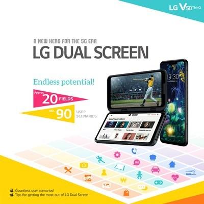 Όλοι οι τρόποι για την σωστή χρήση των δύο οθονών του LG V50 ThinQ 5G 1