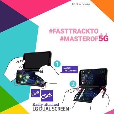 Όλοι οι τρόποι για την σωστή χρήση των δύο οθονών του LG V50 ThinQ 5G 2