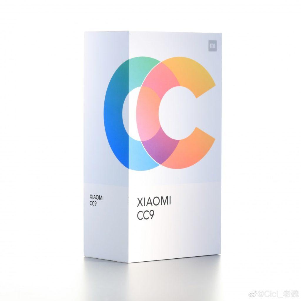 Κοιτάξτε το νέο πολύχρωμο κουτί λιανική πώλησης του Xiaomi Mi CC9 και μερικές λήψεις selfies 1