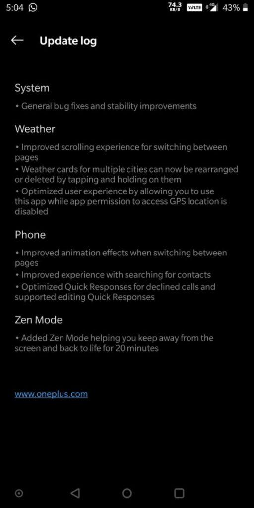 Προς λήψη τα τελευταία Open Betas για OnePlus 5 και 5T 1
