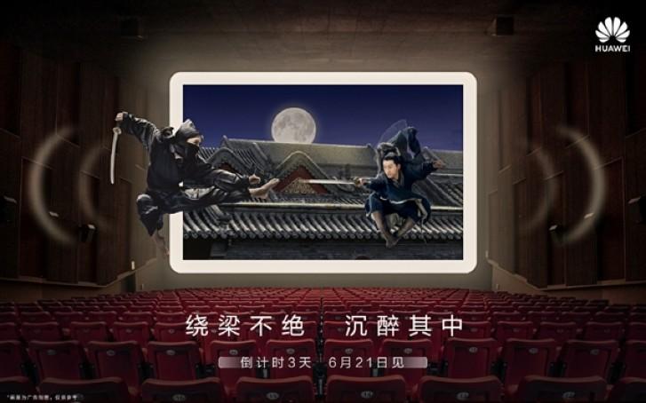Η Huawei θα παρουσιάσει αύριο δύο συσκευές MediaPad M6 1