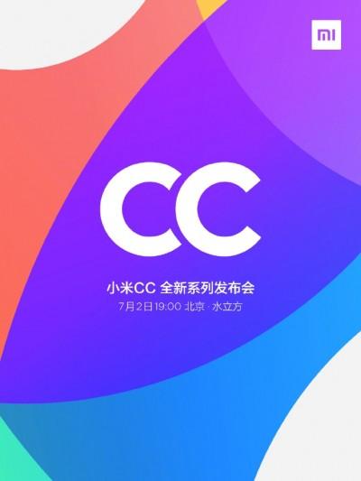 Το Xiaomi CC9 θα φτάσει στις 2 Ιουλίου 1