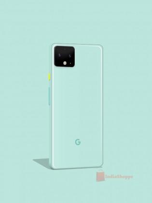 Το Google Pixel 4 εμφανίζεται σε πράσινο και λευκό χρώμα 2