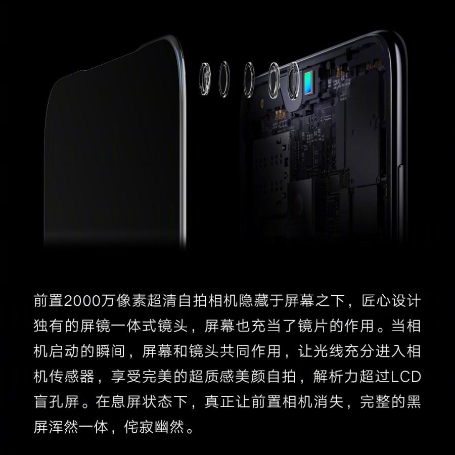Εμπρόσθια κάμερα κάτω από την οθόνη και στα νέα μοντέλα της Xiaomi 2