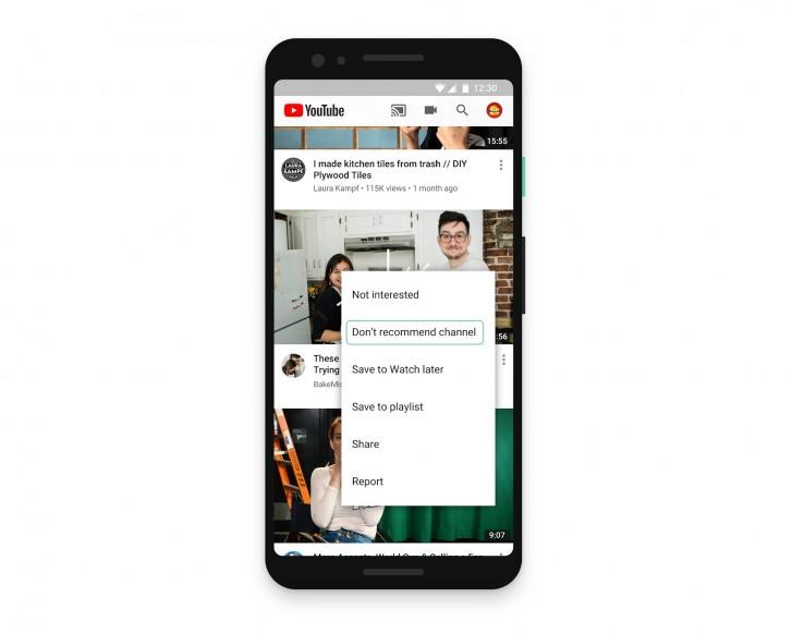 Περισσότερο έλεγχο σας δίνει το YouTube σχετικά με τα ορισμένα βίντεο 2