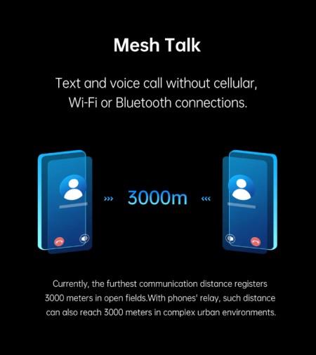 Χωρίς σύνδεση στο Internet, το Oppo MeshTalk επιτρέπει τις τηλεφωνικές κλήσεις και αποστολή μηνυμάτων 1