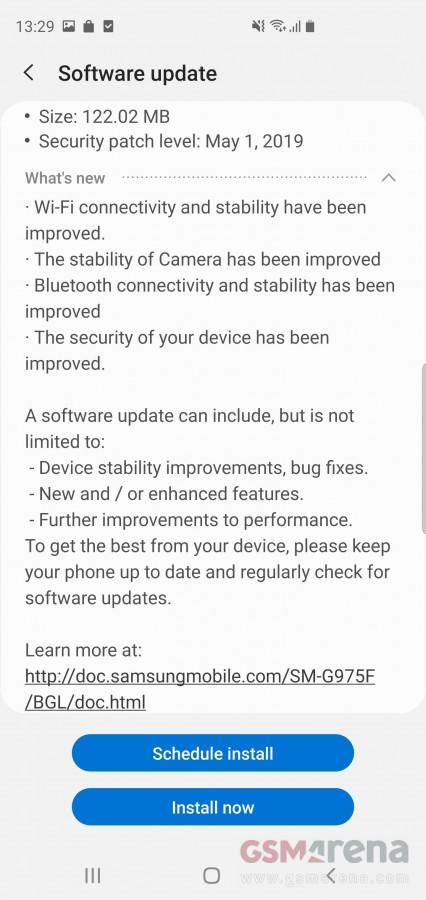 Διέθεσε νέο update για όλους η Samsung όσον αφορά τις συσκευές Galaxy S10 1
