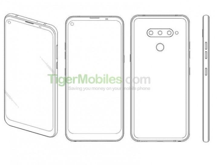 Η LG χορήγησε δίπλωμα ευρεσιτεχνίας για ένα τηλέφωνο με οπή εμπρός για την selfie κάμερα 2