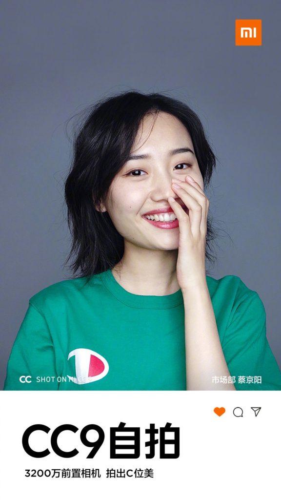 Κοιτάξτε το νέο πολύχρωμο κουτί λιανική πώλησης του Xiaomi Mi CC9 και μερικές λήψεις selfies 5