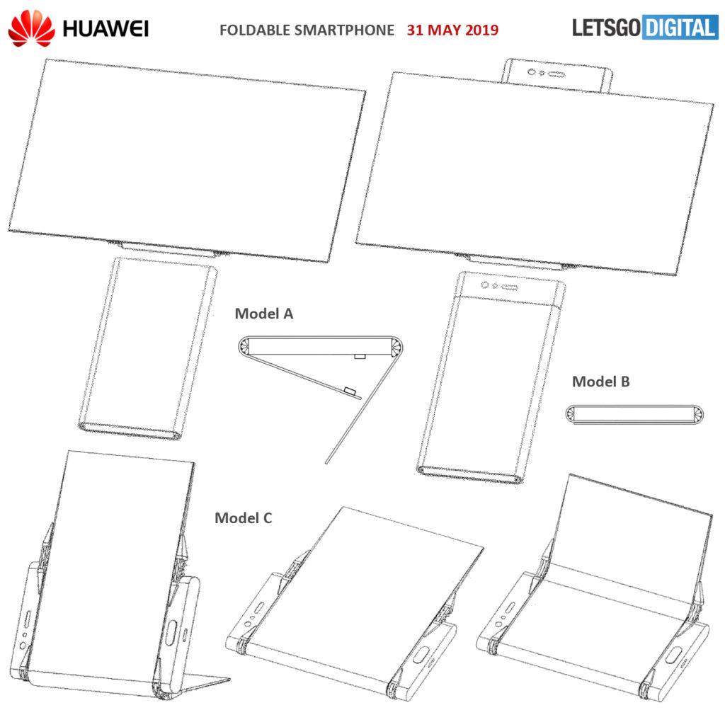 Νέα έμπνευση έχει η Huawei για τον σχεδιασμό πτυσσόμενων τηλεφώνων 1
