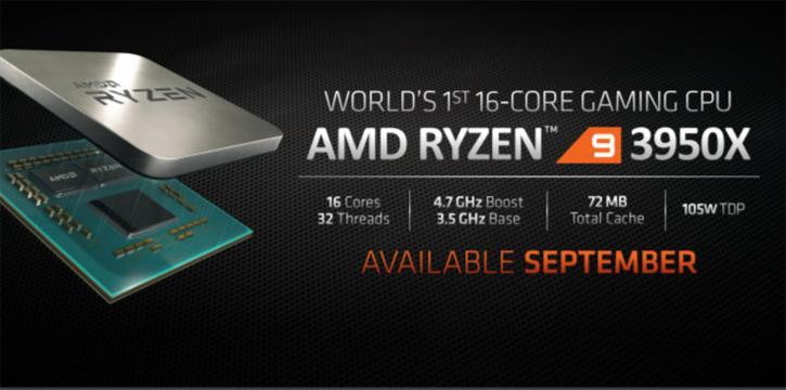 Ryzen 9 3950x: Έρχεται τον Σεπτέμβρη ο 16πύρηνος CPU! 1